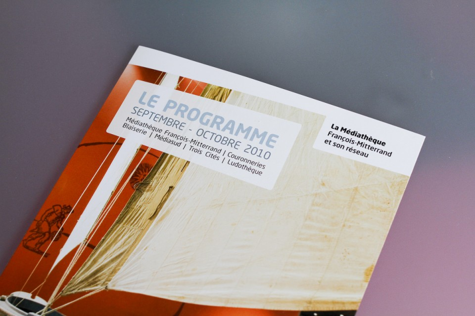 Programme médiathèque de Poitiers - Septembre octobre 2010